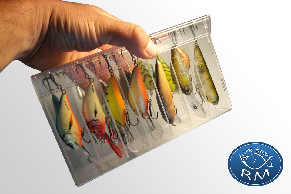 Grand double RM fishing lures box DR 215/60/120