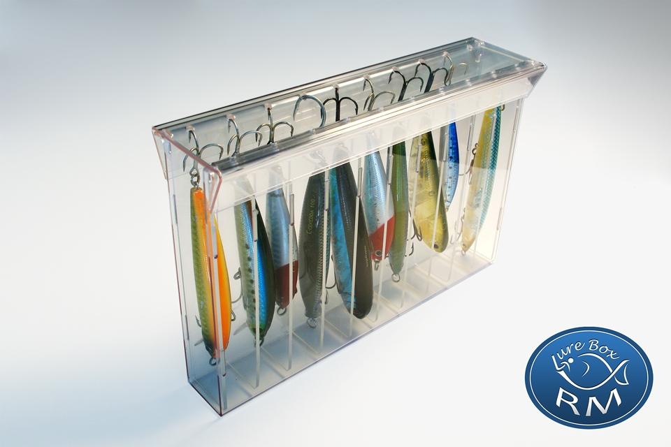 Единична кутия за примамки за морски риболов RM lure box minnow 215/32/140