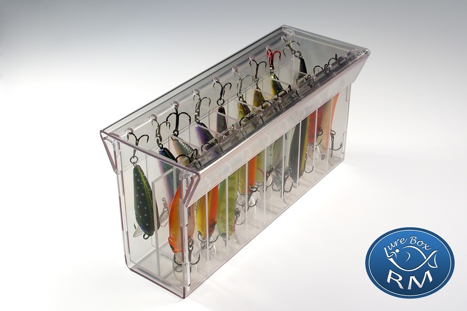 Small double RM lure box minnow 164/40/80