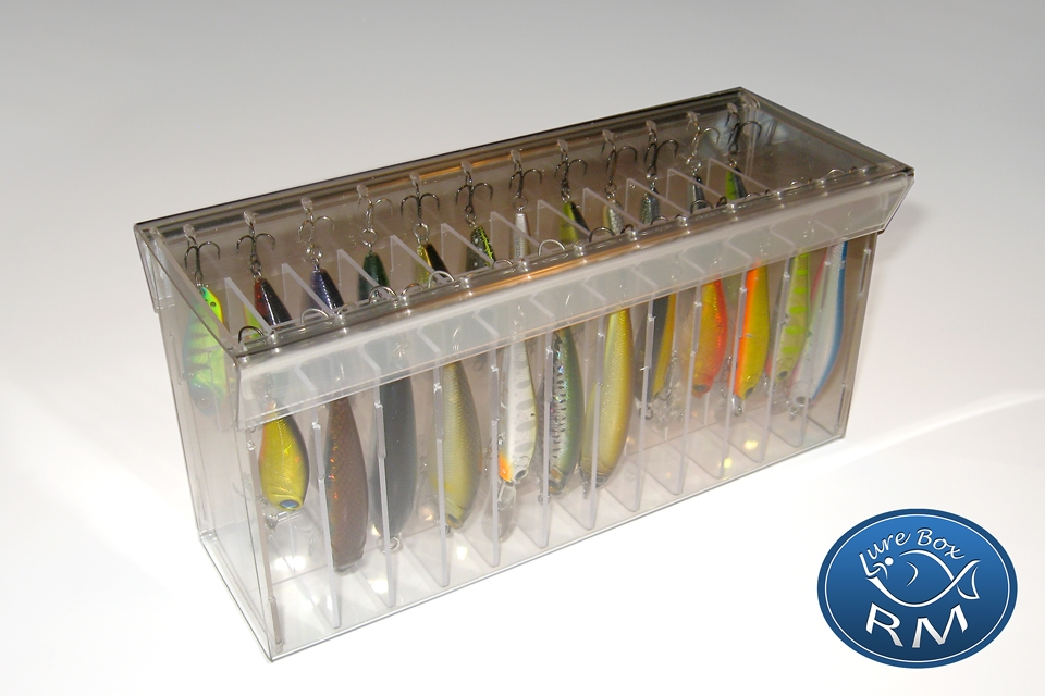 Medium double RM fishing lures box minnow 208/60/100