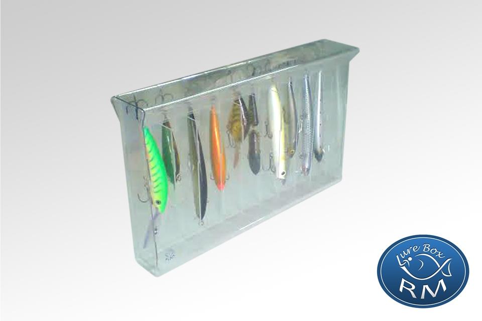 Джъмбо единична кутия за примамки RM lure box 328/40/200