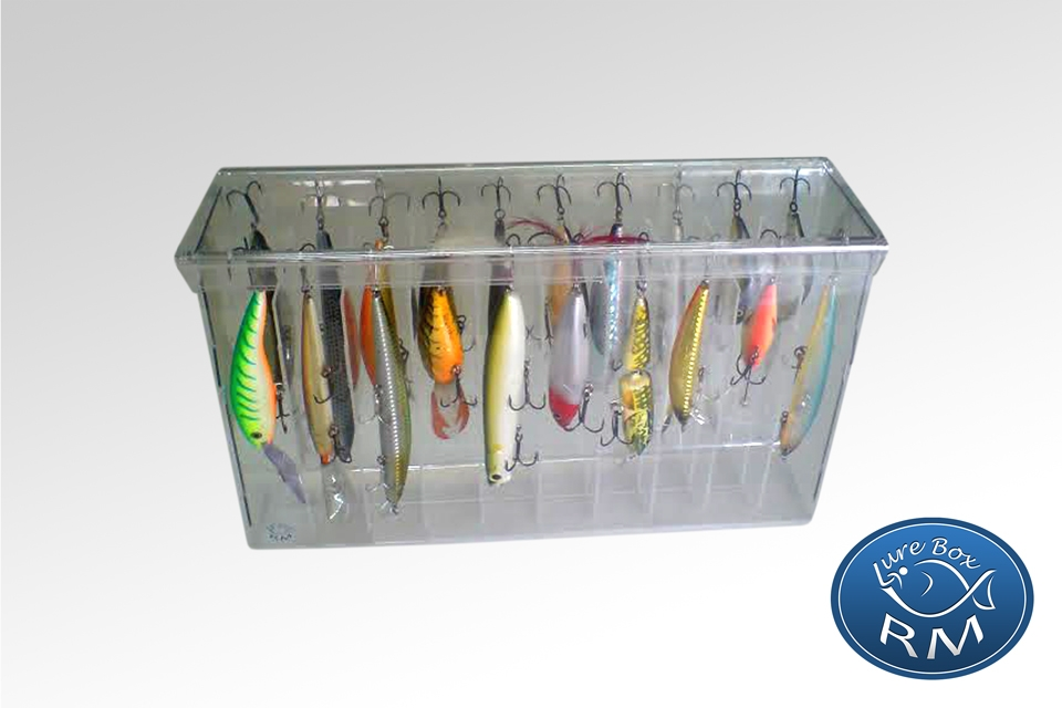 Jumbo double RM lure box 328/75/200